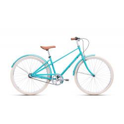 """Bicykel CTM  CITé - pastelovo modrá """"17"""" (430)  2021  IHNED K ODBERU"""