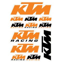 Nálepky KTM -  A4