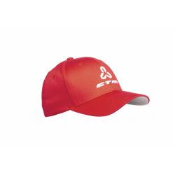Šiltovka CTM, Flexfit, červená, L/XL
