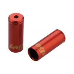 BOT112RJ koncovka utesnená 4,5mm, Al, červená