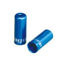 BOT192-2UJ koncovka otvorená 4mm, Al, modrá