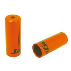 BOT192-2NJ koncovka otvorená 4mm, Al, oranžová