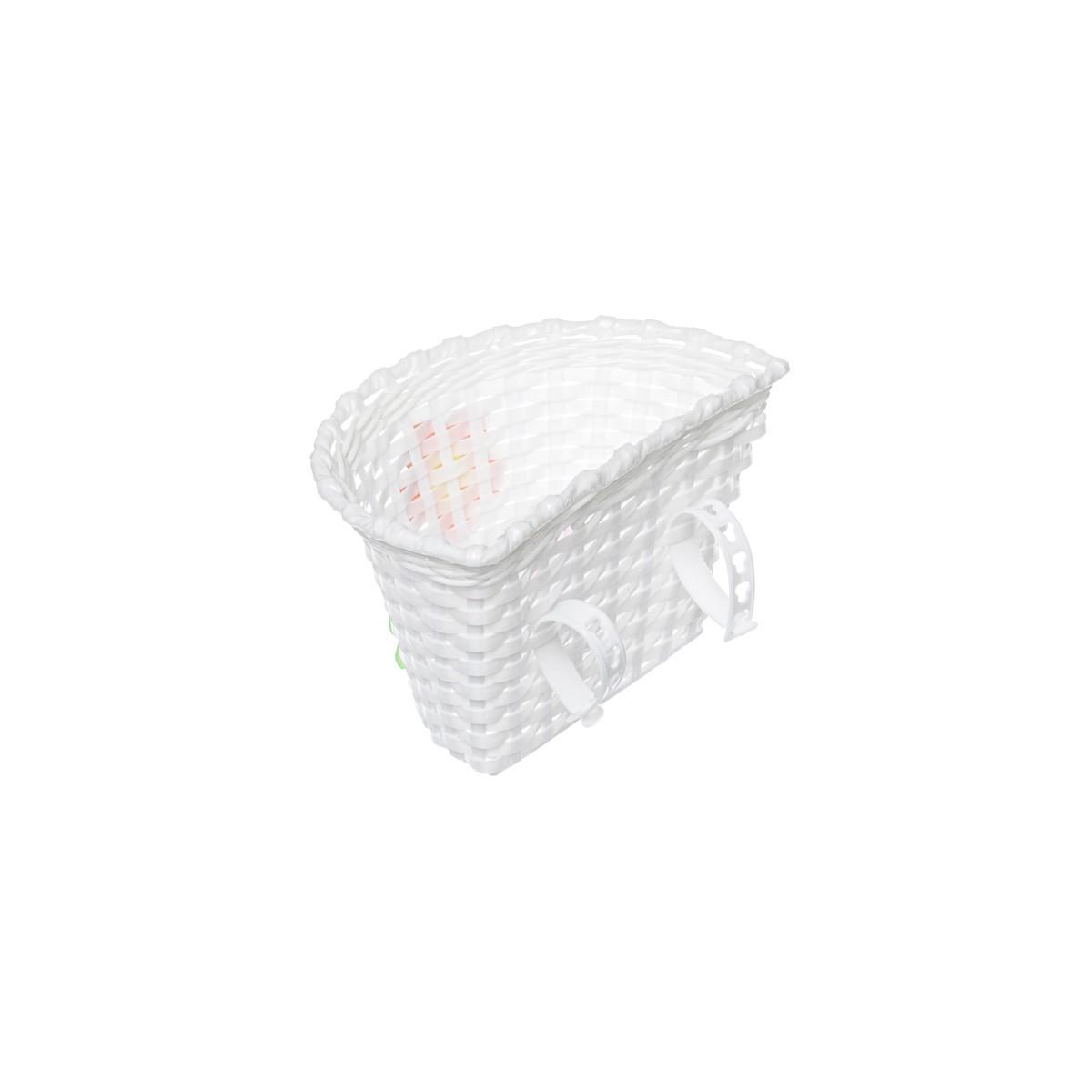 9f1cb20d7 Košík na riadidlá , detský plastový, biely