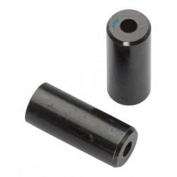 BOT115-4H koncovka otvorená 4mm, mosadzná čierna