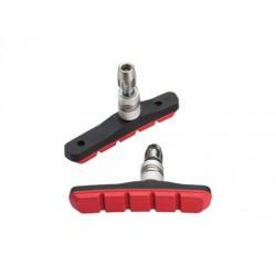 JS908T- R brzd.gumičky Mountain Sport, červené