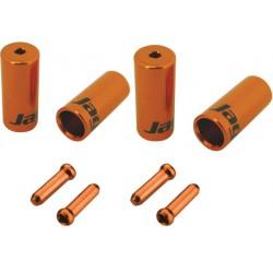 CHA099-NJ,sada koncoviek 4,5mm, oranžová