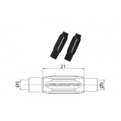 BSA058 nast. skrutka na cestné brzdy,5mm čierna