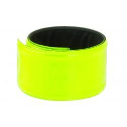 Reflexná páska samonavíjacia, žltá