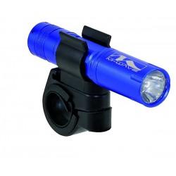 Osvetlenie predné Mini LED M-WAVE- modré AKCIA!