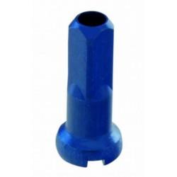 Niple hliníkové 2x14mm,modrý