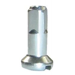Niple hliníkové 2x14mm,strieborný