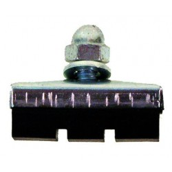 Brzdové gumičky s maticou, 35 mm, OEM