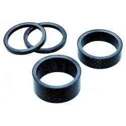 Dištančný krúžok MIGHTY SS4-C,15mm, karbón