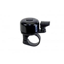 Zvonček mini, hliník/čierny