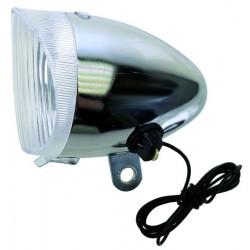 Osvetlenie predné na dynamo ANLUN, oceľ/plast, OEM
