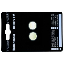 Batérie ploché alkalické, LR-44,2ks na blistri