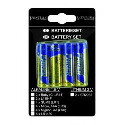 Batérie Mignon UM-3,AA,LR6, 4ks na blistri