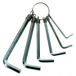 Klúče imbusové - sada