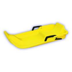 Zimné boby UFO, žlté, plast