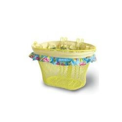 Košík detský žltý