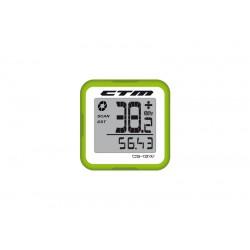 Tachometer CTM, silikónový, zelený