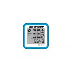 Tachometer CTM, silikónový, modrý