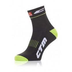 Ponožky CTM XC, limetkové, 38-42