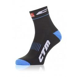 Ponožky CTM XC, modré, 38-42