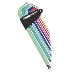 Náradie CTM HEX, sada farebných imbusových kľúčov