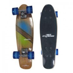 Pennyboard Fisboard NILS classic wood