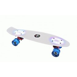 BUFFY FLASH skateboard Svietiaci skelet