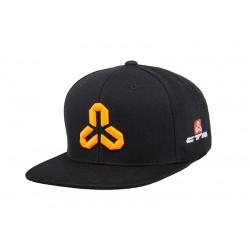 ŚILTOVKA CTM SNAPBACK  čevreno-oranzovo logo