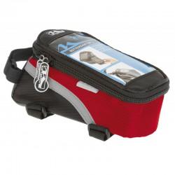 Taška M-WAVE červená dopredu na mobil a náradie