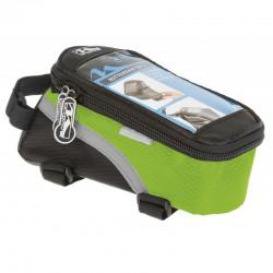 Taška M-WAVE zelená dopredu na mobil a náradie