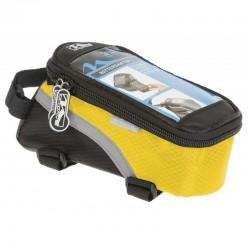 Taška M-WAVE žlta dopredu na mobil a náradie