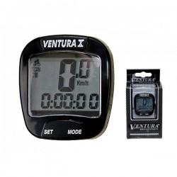 Tachometer Ventura X 10 funkcny- čierny