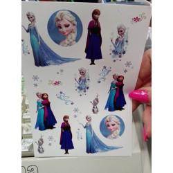 Nálepky Frozen