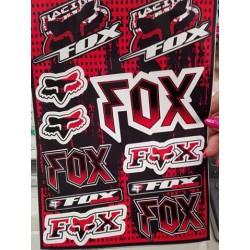 Nálepky FOX