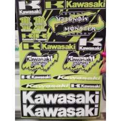 Nálepky Kawasaki