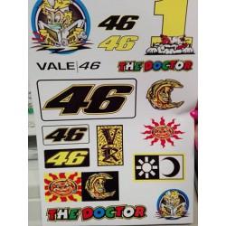Nálepky Valentino Rossi