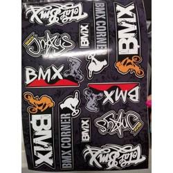 Nálepky BMX