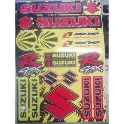 Nálepky SUZUKI formát A4