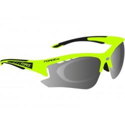 Okuliare  F RIDE PRO fluo diop.klip,černá laser skla