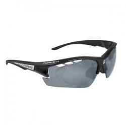 Okuliare F RIDE PRO černé diop.klip,čierná laser skla