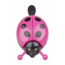 Zvonček PRO-T lienka Ružova farba čierne bodky