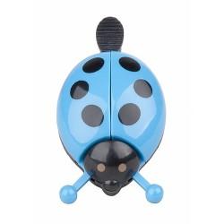 Zvonček PRO-T lienka  Modra farba čierne bodky