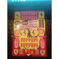 Nálepky FERRARI A5