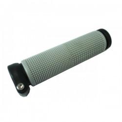 Rukoväť guma/plast, 130mm, sivá, na imbus