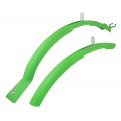 Blatníky FORCE 26-28 s lopatkou, plast, zelené VYPREDAJ!!