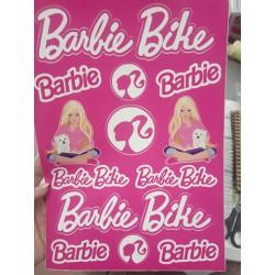 Nálepky BARBIE A4